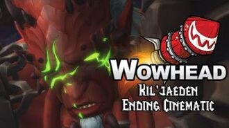 Kil'jaeden Ending Cinematic
