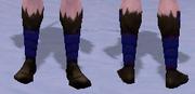 Mystic's Slippers, Snow Background, NE Female