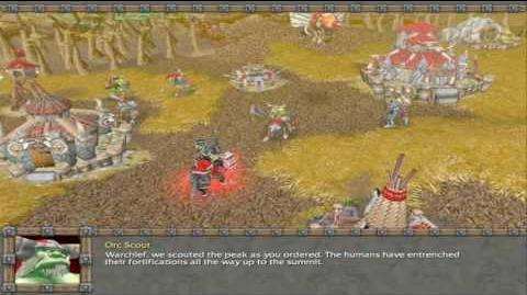 Warcraft 3 Reign of Chaos Orc campaign cinematics 4 6