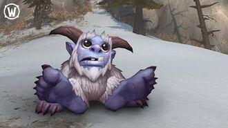 New World of Warcraft Pet –Whomper!