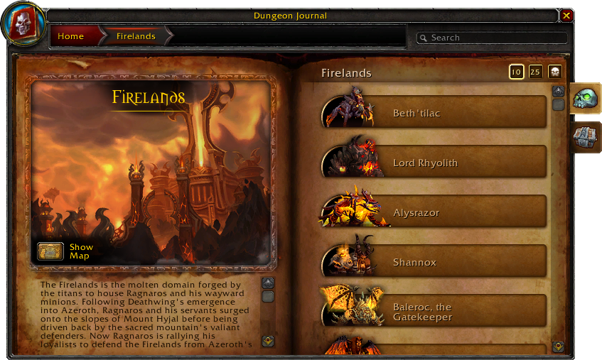 Dungeon Journal-Firelands-Bosses-4 2 0 14313