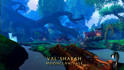 BlizzCon Legion - Moonclaw Vale