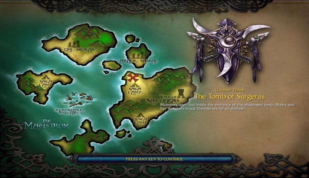 The Tomb Of Sargeras Warcraft Iii Wowwiki Fandom