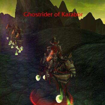 Ghostrider of Karabor