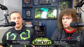 Live Developer Q&A with Ion Hazzikostas