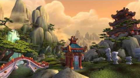 World of Warcraft Mists of Pandaria - The Wandering Isle