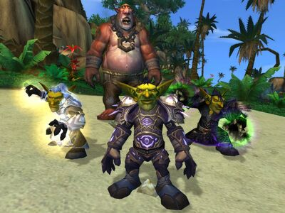 Cataclysm Goblin Priest, Mage, and Warlock