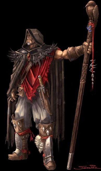 Legendary Atiesh, the staff of the Guardian