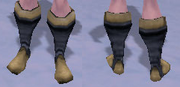 Seer's Boots, Snow Background, NE Female