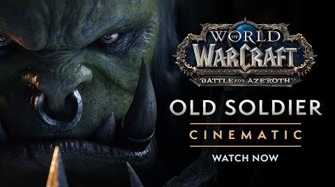"""Cinematic """"Old Soldier"""""""