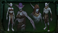 BlizzCon Legion Suramar The Nightborne outcast withered
