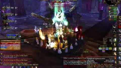 Paladin Tanking Heroic Utgarde Pinnacle part I - World of Warcraft