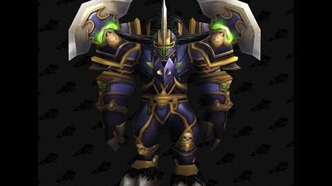 Battlegear of Wrath - Warrior T2 Tier 2 - World of Warcraft Classic Vanilla