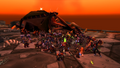Group of Players Near a Dragon.png