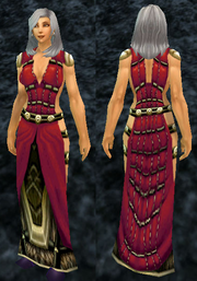 Felcloth Robe, Stone Background, Human Female