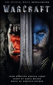 Warcraft-Official Novelization-cover-from Amazon