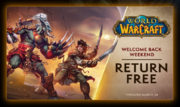 Welcome Back Weekend-March2019