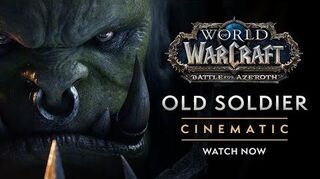"Cinematic ""Old Soldier"" (EU)"