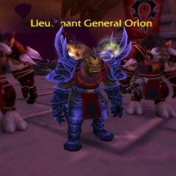 Lieutenant General Orion