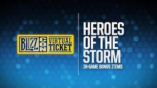 BlizzCon 2018 Virtual Ticket - Heroes of the Storm In-Game Item Reveal