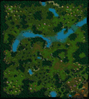 The Spirits of Ashenvale Map