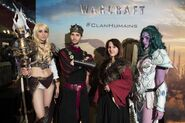 Warcraft movie premiere-France-4 ClanHumans