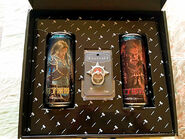 Warcraft movie-Tsingtao beer inside collector box