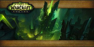 Antorus, The Burning Throne Raid loading screen-build24781
