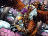 Armored Snowy Gryphon