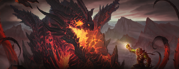 Deathwing and Thrall