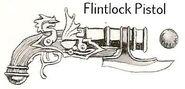 Flintlock Pistol Bullet