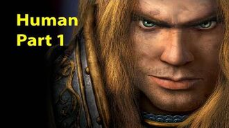 Warcraft 3 Gameplay - Human Part 1 - The Defense of Strahnbrad