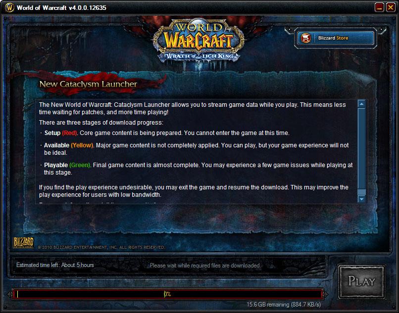 Warcraft лаунчер скачать