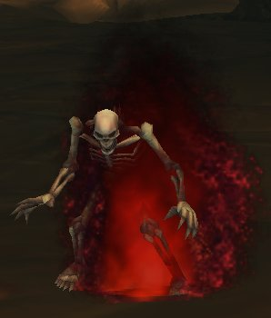 Smoldering Skeleton