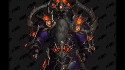 Cloth set - The Eternal Palace - World of Wacraft Battle for Azeroth