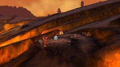 Magni's Encampment in Silithus the Wound