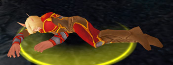 Dying Blood Elf