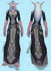 Conqueror's Robe of Sanctification, Snow Background, NE Female