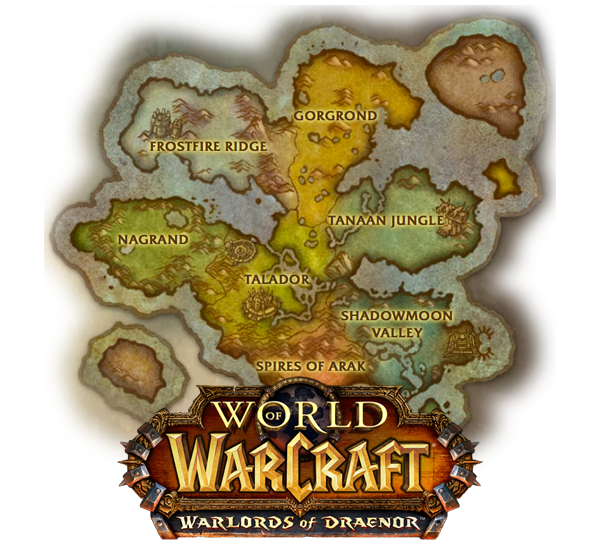 Image new draenor map with warlords logog wowwiki fandom new draenor map with warlords logog gumiabroncs Image collections