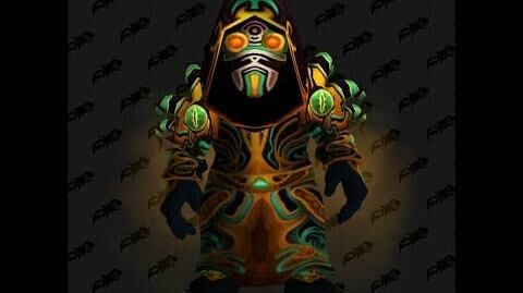 Plagueheart Raiment - Warlock T3 Tier 3 - World of Warcraft Classic VanillaT