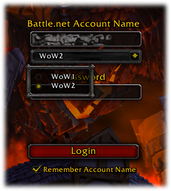 Login scn account dropdown Beta15589