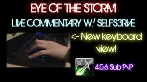 WoW Cataclysm Eye of the Storm live commentary 85 Rogue PvP