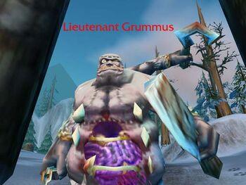 Lieutenant Grummus