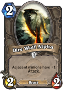 Dire Wolf AlphaHearthstone