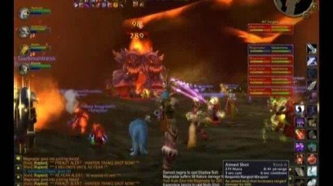 WoW Tyraenny Kill Molten Core - Magmadar