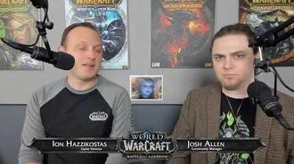 Battle for Azeroth Live Developer Q&A - 1 30 2018