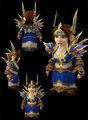 Lieutenant Commander's Arcanum gnome female