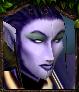 Night elven archer portrait