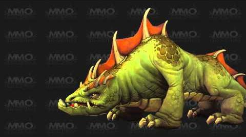 Mists of Pandaria Beta - Mushan Beast Model