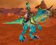 Turquoise Raptor
